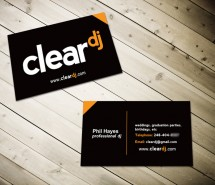 ClearDJ cards finished