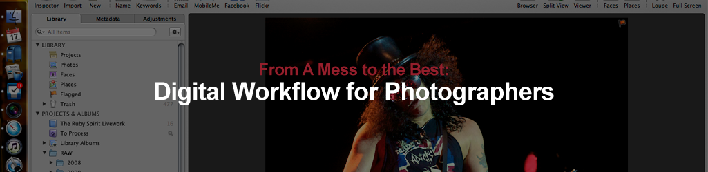 From A Mess to the Best: Digital Workflow for Photographers